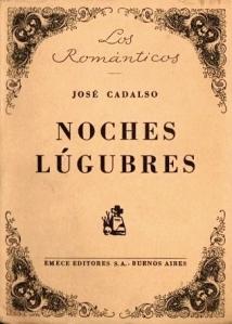 José Cadalso - Noches Lúgubres