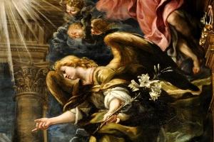 La Anunciación de Claudio Coello
