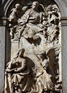 La Anunciacion - Fachada del Real Monasterio de la Encarnación