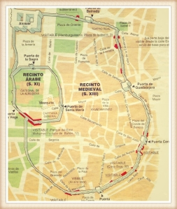 Madrid y sus murallas medievales