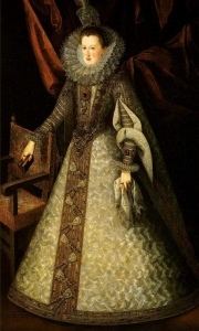 Margarita de Austria por Juan Pantoja de la Cruz - Museo del Prado