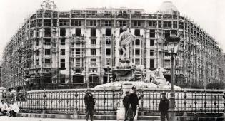 El Hotel Palace en construcción