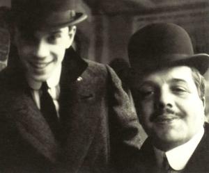Diaguilev y Nijinsky