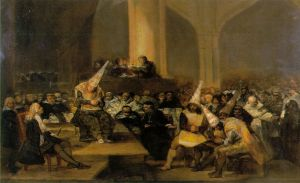 Escena de la Inquisición - Goya