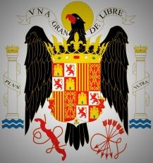 Escudo de España durante el régimen del general Franco