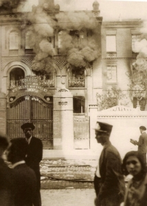 Incendio del Colegio de Nuestra Señora de Las Maravillas durante la II República