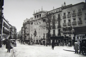 Plaza del Progreso en 1933