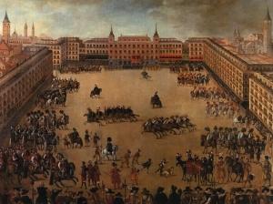 Plaza Mayor de madrid - Juan de la Corte (1623)