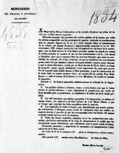 Real Decreto de abolición de la Santa Inquisición