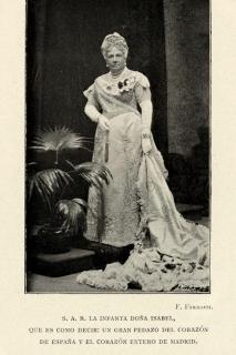 """S.A.R. Dª. Isabel de Borbón """"La Chata"""""""