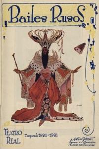 Teatro Real - Ballets Rusos 1920-21