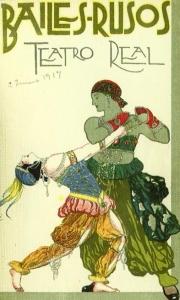 Teatro Real - Ballets Rusos de Diaguilev 1917