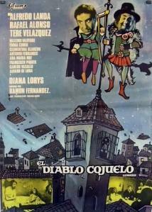 Cartel de la película El Diablo Cojuelo, dirigida por Ramón Fernández en 1971