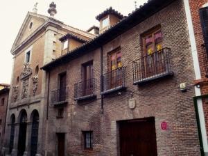 Convento de San Ildefonso de las Trinitarias Descalzas en la calle Lope de Vega (Barrio de Las Letras)