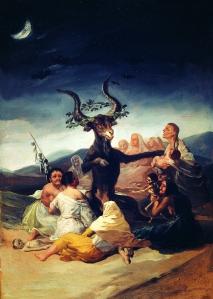 El aquelarre - Francisco de Goya (Museo Lázaro Galdiano)