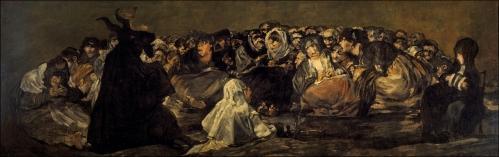 El Aquelarre o el Gran Cabrón - Francisco de Goya (Museo del Prado)