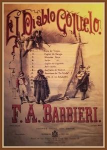El Diablo Cojuelo - Zarzuela en 3 actos de F. A Barbieri