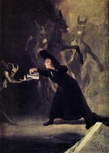 El Hechizado por la fuerza  - Francisco de Goya (National Gallery)