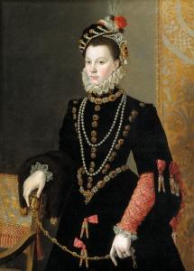 Isabel de Valois por Sofonisba Anguissola