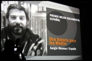 Una historia para los Modlin - Premio mejor documental español