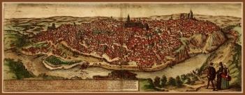 Vista de Toledo en el siglo XVI