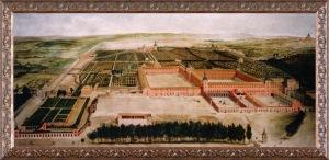 1 Jusepe Leonardo -Vista del Palacio y Jardines del Buen Retiro (1637-1638)