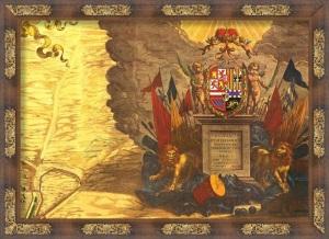 Topographia de la Villa descrita por Don Pedro Texeira. Año 1656. Dedicatoria a Felipe IV
