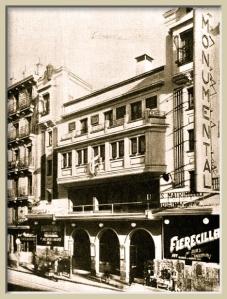 Fachada del Teatro-Cine Monumental