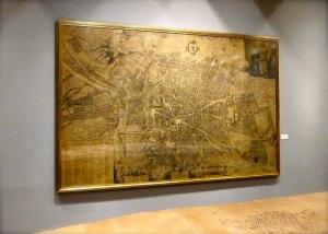 Plano de Teixeira - Museo de Historia de Madrid