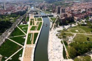 Panorámica de Madrid Rio