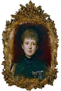 La reina María Cristina de Habsburgo-Lorena - Raimundo de Madrazo