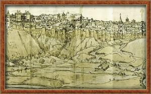 Vista del Madrid medieval
