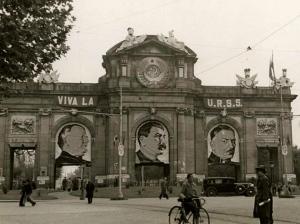 Puerta de Alcalá - Guerra Civil