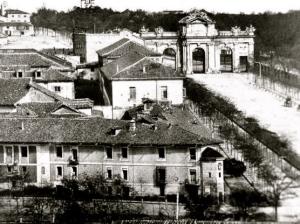 La Puerta de Alcalá en 1855