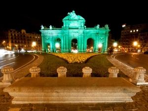 Puerta de Alcalá - Día de San Patricio