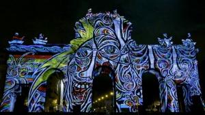 Puerta de Alcalá - XXV aniversario de la caída del Muro de Berlín