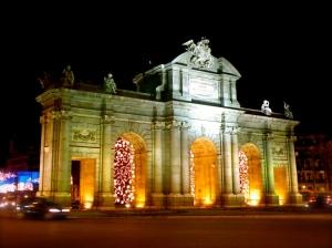Puerta de Alcalá - Navidad