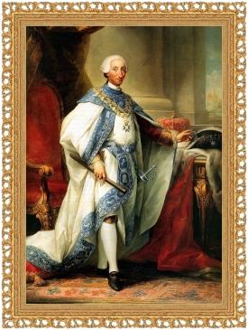 Carlos III conel habito de su orden (Palacio Real de Aranjuez)