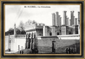Catedral de la Almudena - Hacia 1920