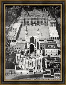 Catedral de la Almudena - Vista Aerea