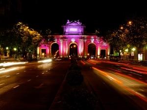 Puerta de Alcalá - La Noche en Blanco