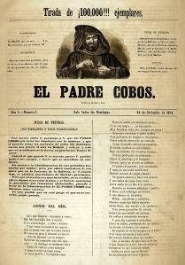 Primer número de El Padre Cobos.
