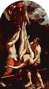 La Crucifixión de San Pedro - Guido Reni