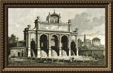 La Fontana dell'acqua Paola en Roma