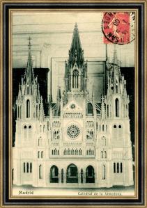 Maqueta del proyecto original de la Catedral de la Almudena