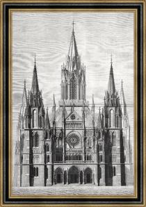 Proyecto original para la Catedral de la Almudena 1