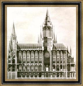 Proyecto original para la Catedral de la Almudena 2