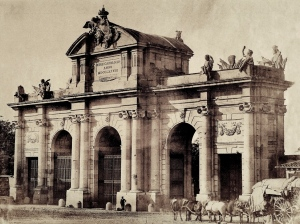 La Puerta de Acalá a finales del siglo XIX