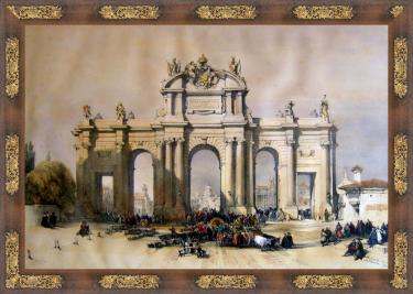 rla Puerta de Alcalá (David Roberts, Londres 1837)