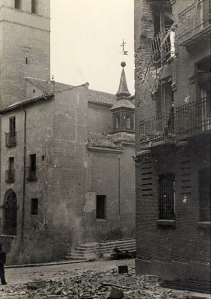 San Pedro el Viejo durante la guerra Civil